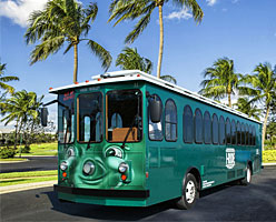 Trolley Bus i Orlando